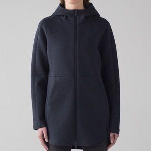 lululemon athletica Jackets & Coats - Lululemon long black jacket